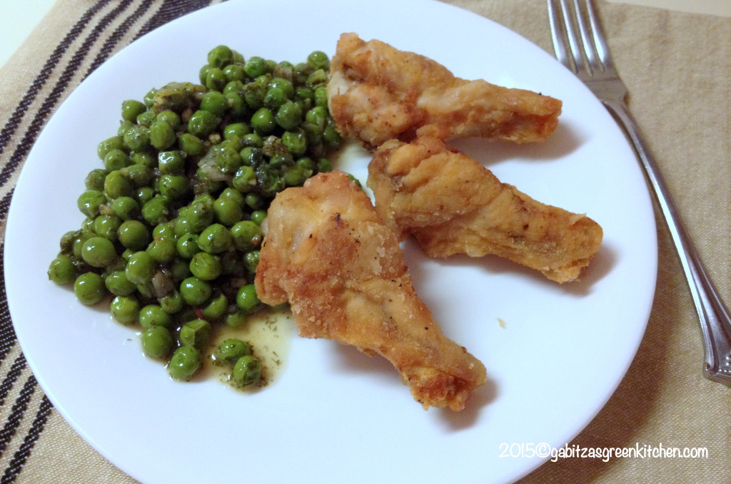 Super Easy Green Peas