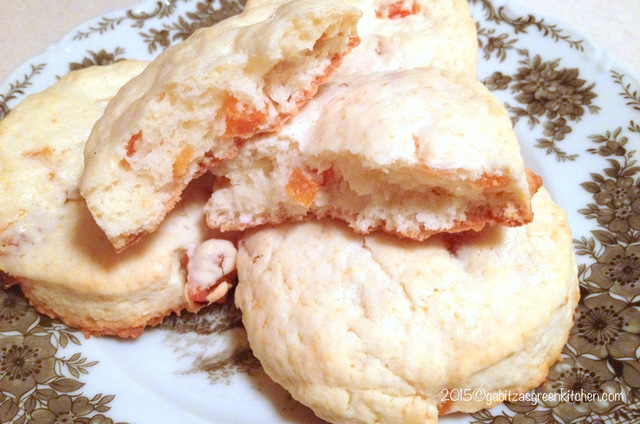 Apricot and Sour Cream Scones