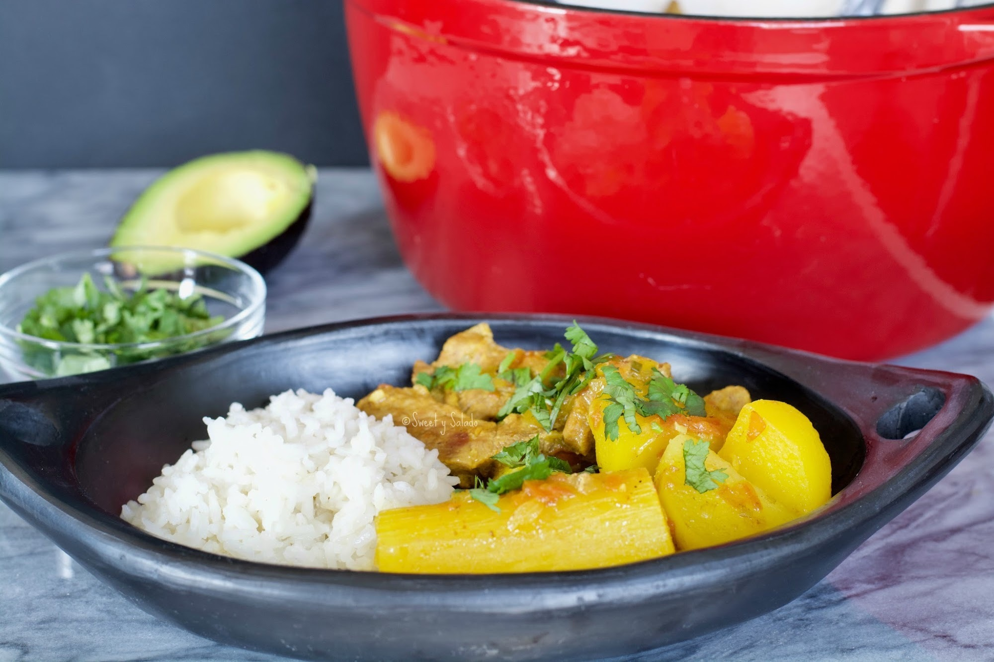 Colombian Pork Ribs Stew