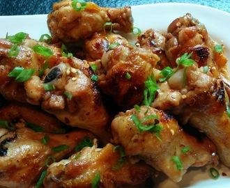 Sriracha Honey Chicken Wings