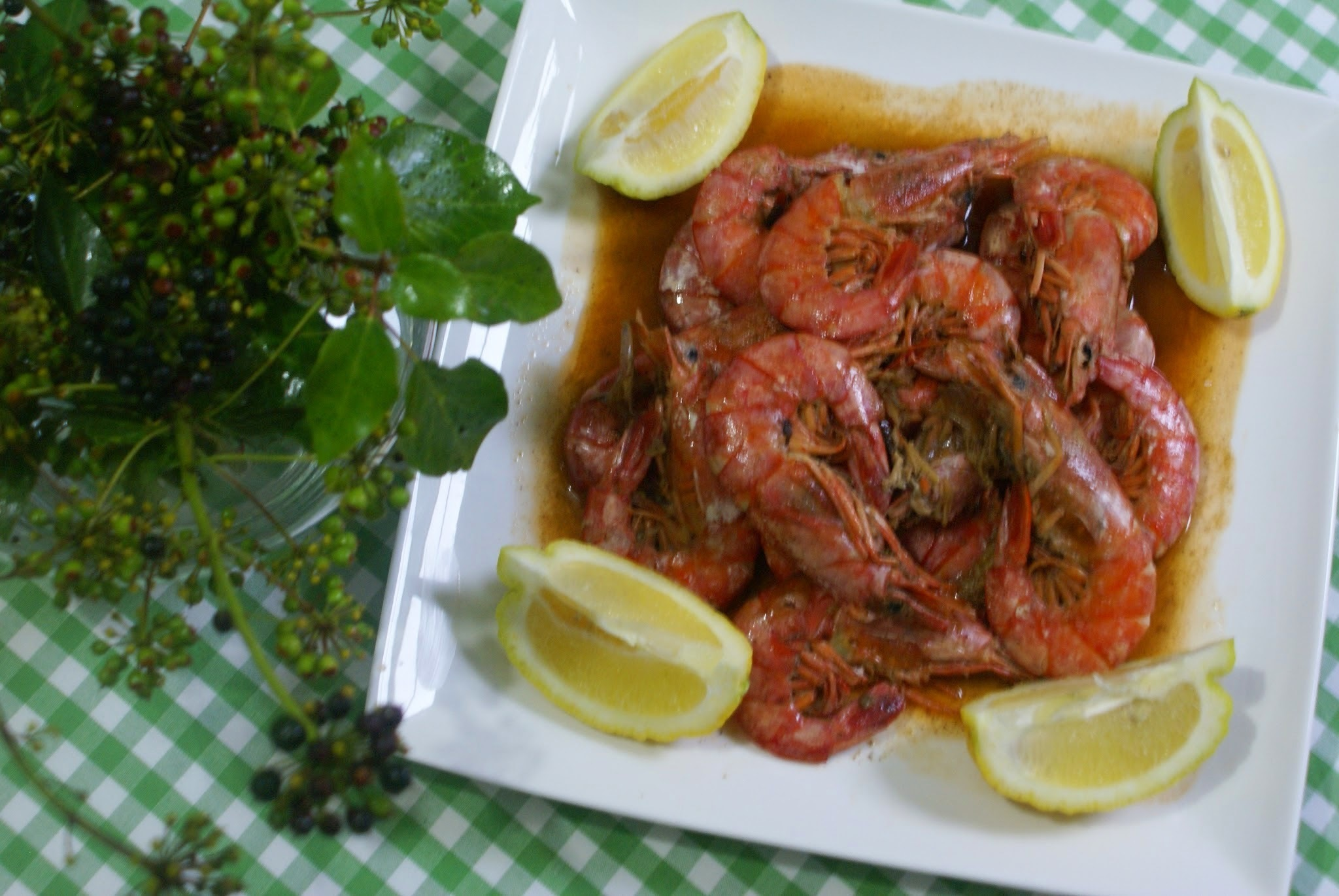Spicy Fried Shrimps & Beer Sauce