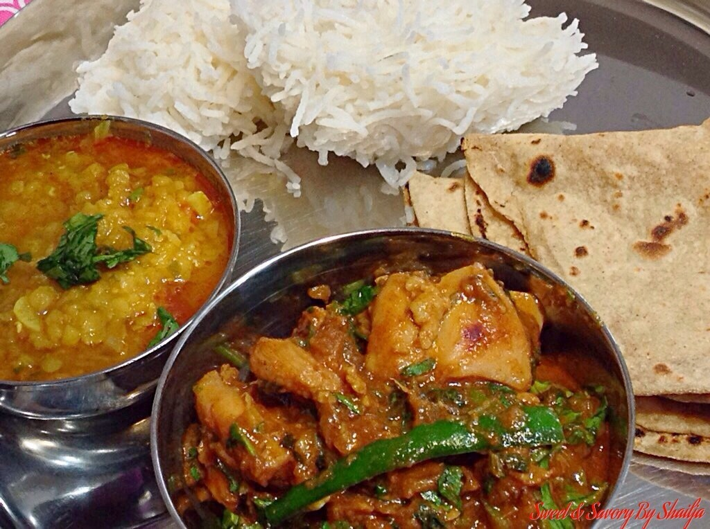 North Indian Street Style Bhuna Chicken