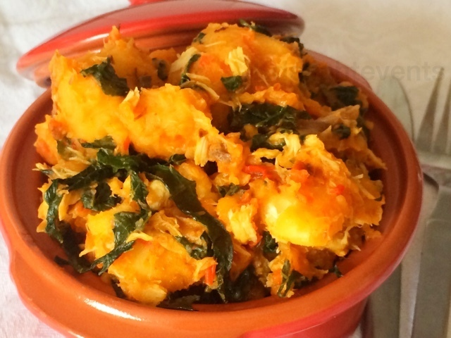 Yam pottage (Asaro) the not so easy way