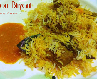 Hyderabadi Mutton Biryani Recipe / Hyderabadi Dum Biryani / Spicy Mutton Biryani Recipe