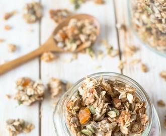 Dried Apricot Sunflower Granola