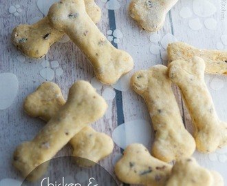 Chicken & Wild Rice Dog Biscuits
