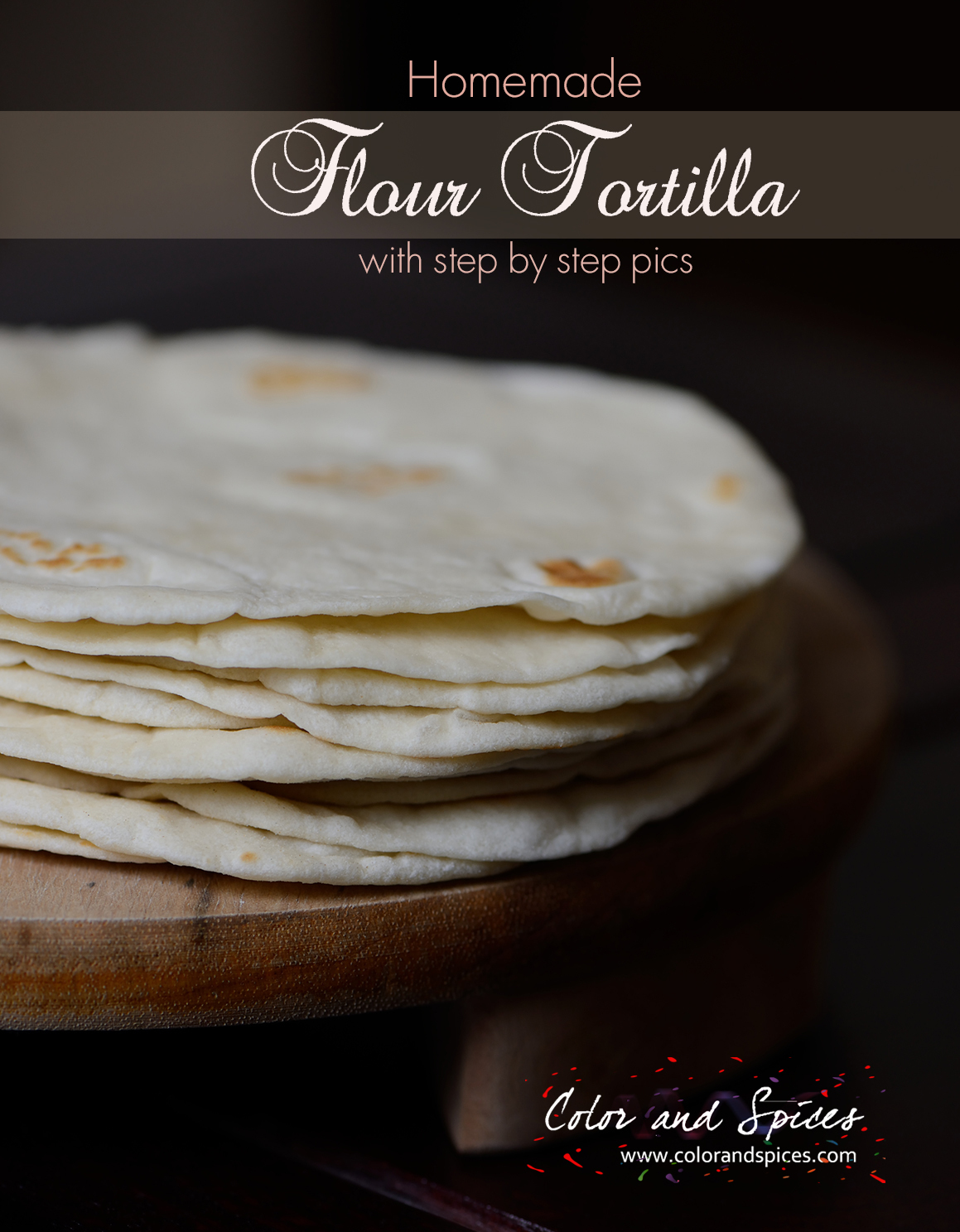 Homemade Flour Tortilla...