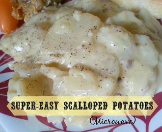 Super-Easy Scalloped Potatoes (Microwave)