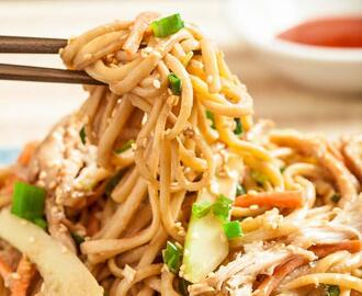 Asian Cold Sesame Noodles (Nut Free)
