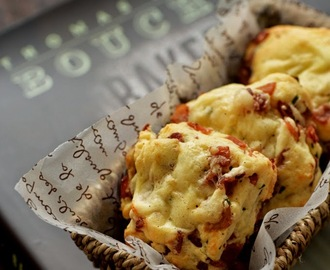 Bacon Cheddar Scones (Bouchon Bakery)