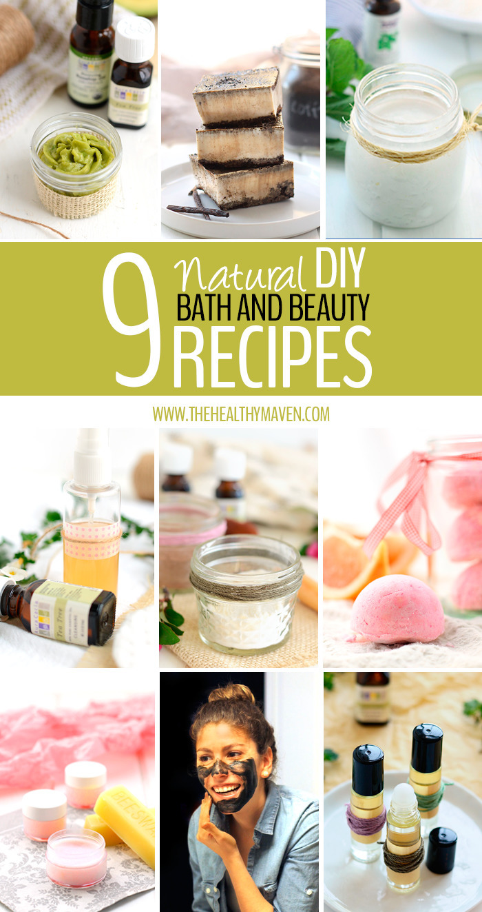 My Favorite DIY Natural Bath and Beauty Recipes