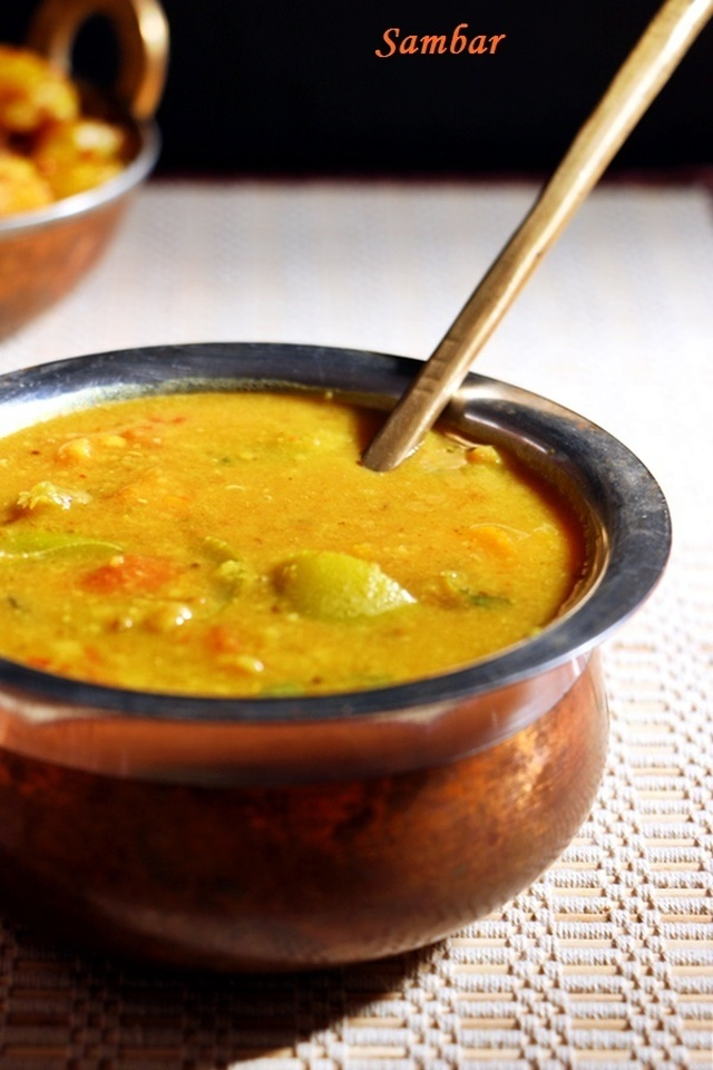 Sambar recipe | South Indian sambar recipe