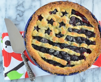 Fourth of July Blackberry Pie