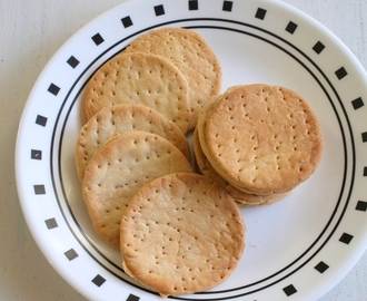 Baked papdi recipe | Homemade oven baked papdi recipe