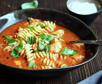 Chicken Parmesan Suppe