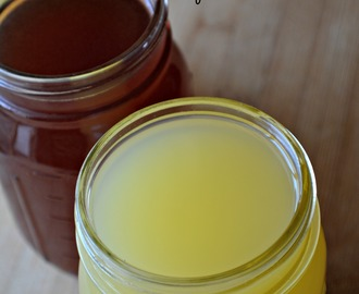 Homemade Electrolyte Sports Drinks