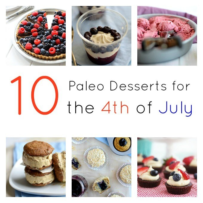 10 Paleo Desserts for the 4th of July