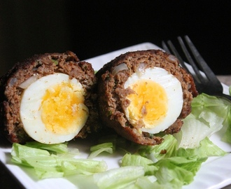 Indian Scotch Eggs Recipe / Crispy Scotch Eggs Recipe