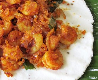 Chemeen Pathiri Recipe - Chemeen Ada - Kerala Recipes