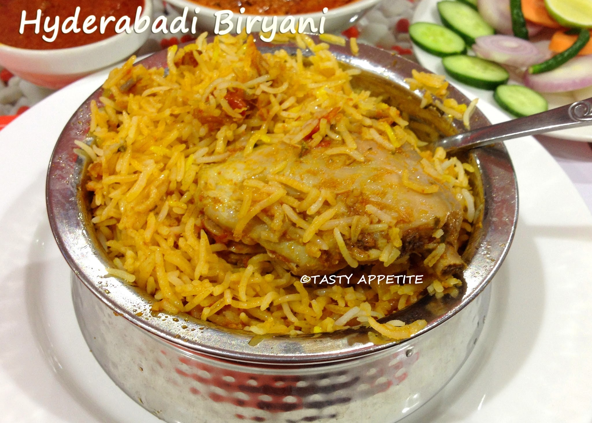 Hyderabadi Chicken Dum Biryani Recipe / Hyderabadi Biryani / Spicy Biryani Recipes