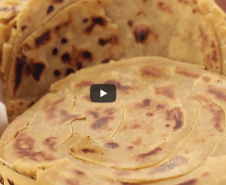 Chur Chur Paratha Recipe Video