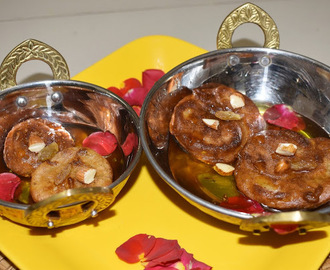 Banana Malpua - a fried Indian pancake