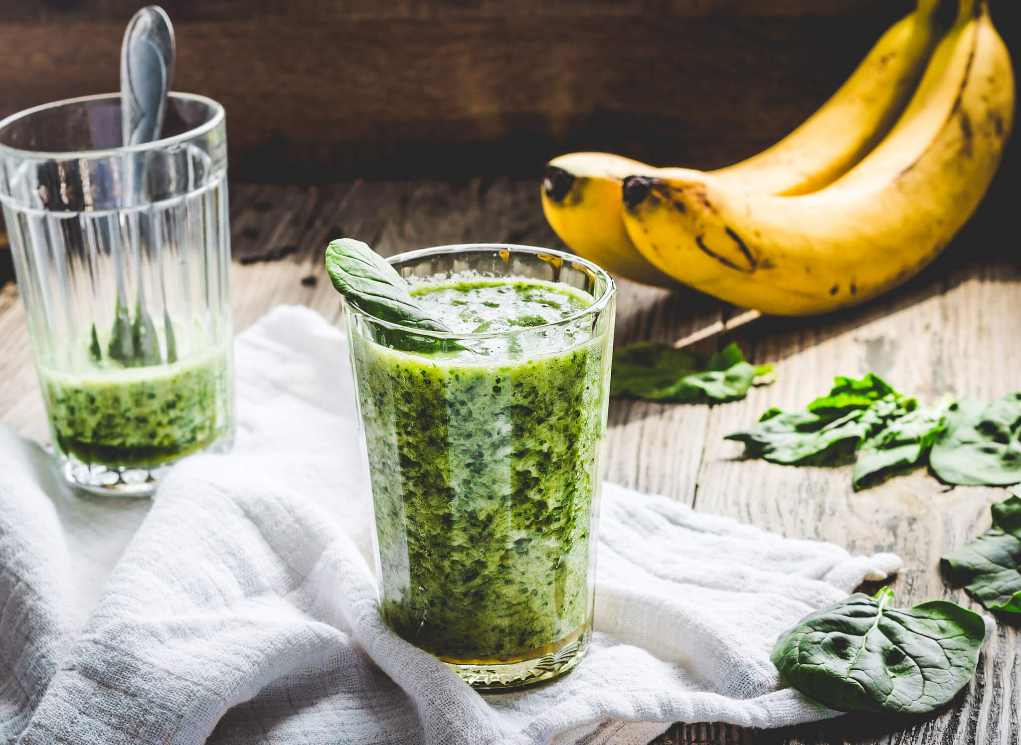 BANANA&SPINACH GREEN SMOOTHIE
