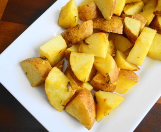Mustard Tarragon Roasted Potatoes