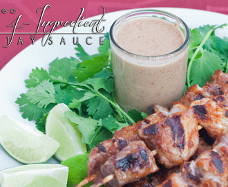 4-Ingredient Paleo Satay Sauce, a.k.a. Devi's Magic Sauce