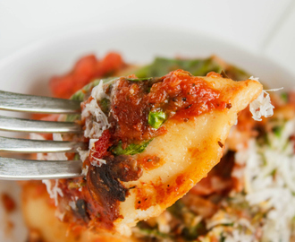 Oven-Baked Perogies in Tomato Sauce