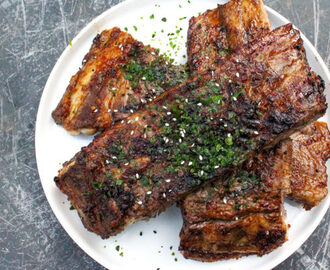 Oosterse spareribs