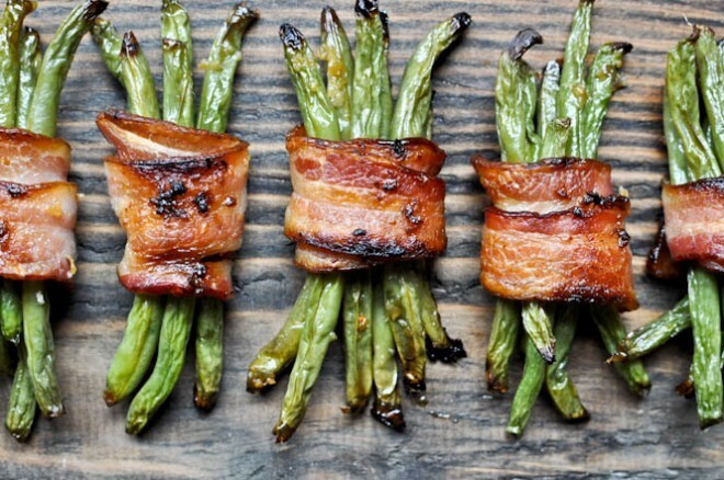Green Bean Bacon Bundles.
