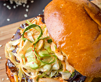 Korean BBQ Burger, One Crazy-Good Little Burger