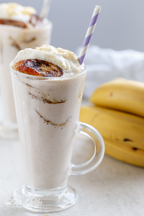 Banana Cream Pie Breakfast Smoothie