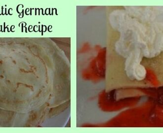 Authentic German Pancake Recipe- Eierkuchen Goldgelb
