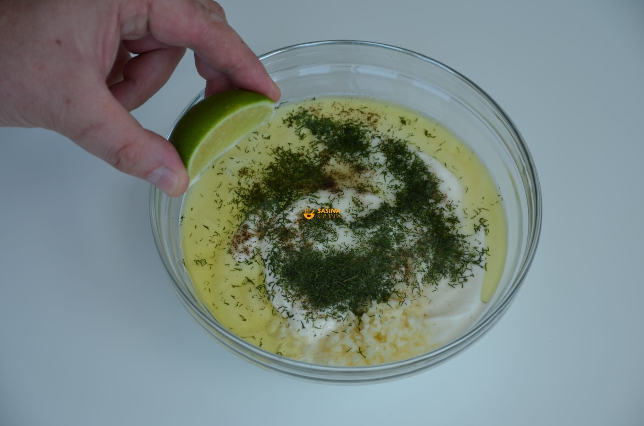 VIDEO – Salata sa Piletinom Umak od Kopra Chicken Salad Dill Sauce