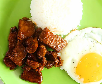 Homemade Pork Tocino