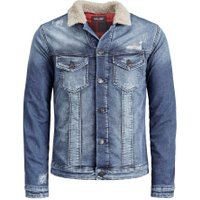 JACK & JONES Denim Jacket Jacket Man Blå