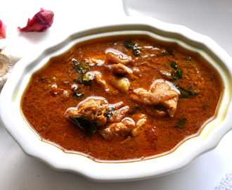 Chettinad Chicken Kuzhambu