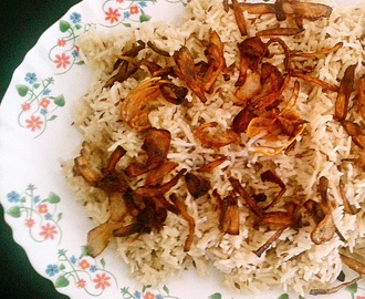 Jeera rice (cumin rice) recipe