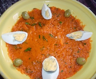 Salade tunisienne aux carottes ( omek houria)