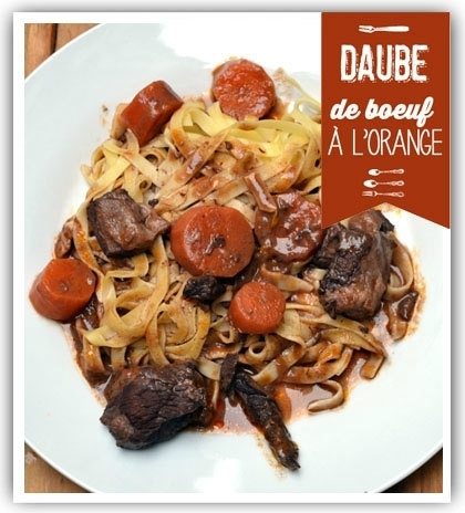 Régal de boeuf en daube à l'orange