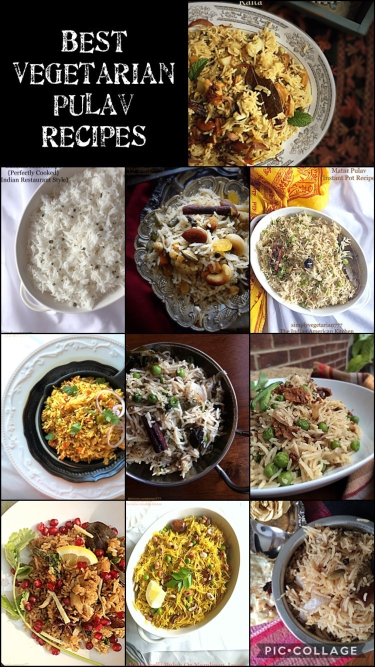 Best Vegetable Pulav Recipes