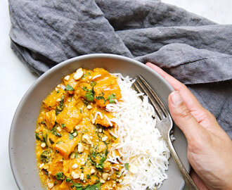 Thai Butternut Squash Red Curry