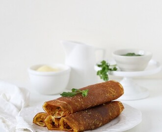 RECIPE OF THE MONTH: Besan Buttermilk Crepes