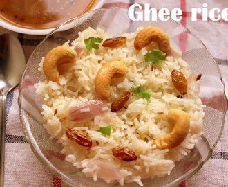 Ghee rice recipe – How to make ghee rice recipe – rice recipes