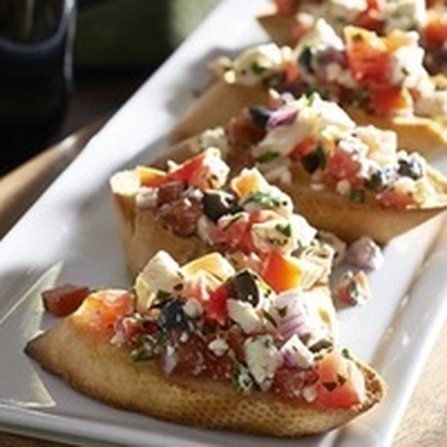 Bruschetta Appetizers Recipe