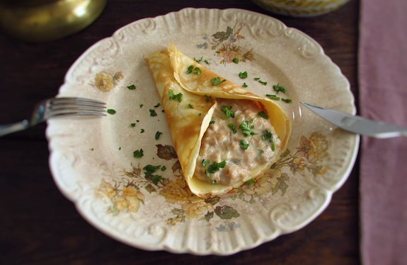 Crepes with tuna | Food From Portugal