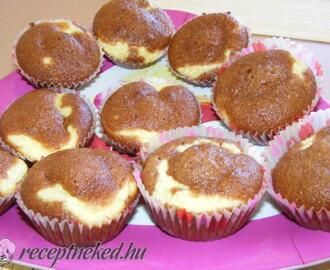 Túrós muffin recept