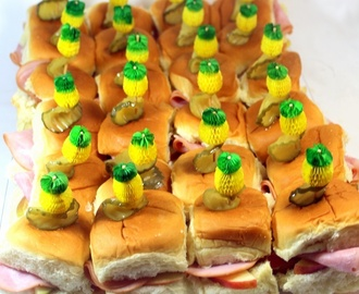 Dressed up Sliders- a 50 Cent Sandwich that tastes like a Million - 52 Catering Recipes and Church PotLuck Ideas